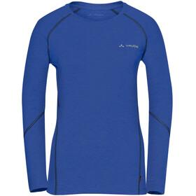 VAUDE Signpost II - T-shirt manches longues Femme - bleu